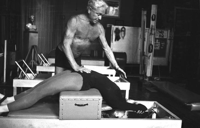 Joseph Pilates & Romana